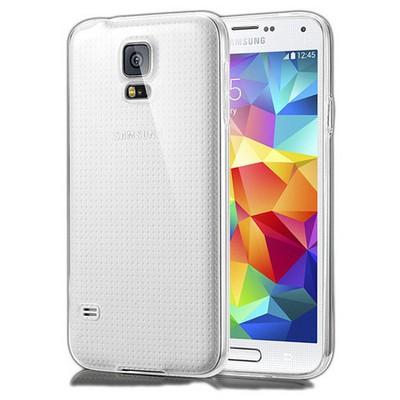 Microsonic Samsung Galaxy S5 Kılıf & Aksesuar Seti 8in1 Cep Telefonu Kılıfı
