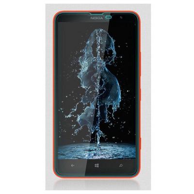 Microsonic Temperli Cam Ekran Koruyucu Nokia Lumia 1320 Kırılmaz Film Ekran Koruyucu Film