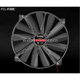 Frisby Fcl-f20c 20 Cm  4-led Blue Fan