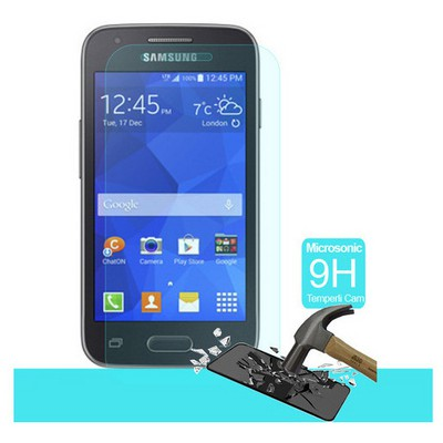 Microsonic Temperli Cam Ekran Koruyucu Samsung Galaxy Ace 4 Kırılmaz Film Ekran Koruyucu Film