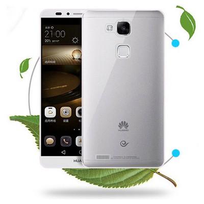 Microsonic Transparent Soft Huawei Ascend Mate 7 Kılıf Pembe Cep Telefonu Kılıfı