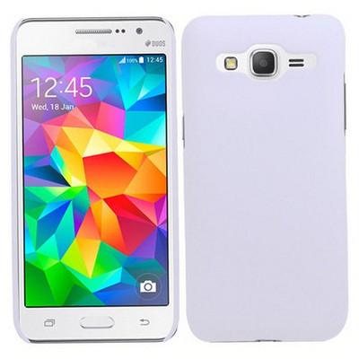 Microsonic Premium Slim Samsung Galaxy Grand Prime Kılıf Beyaz Cep Telefonu Kılıfı