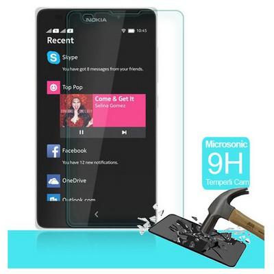 Microsonic Temperli Cam Ekran Koruyucu Nokia Lumia Xl Kırılmaz Film Ekran Koruyucu Film