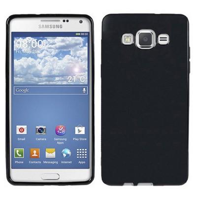 Microsonic parlak Soft Samsung Galaxy Grand Prime Kılıf Siyah Cep Telefonu Kılıfı