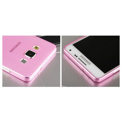 Microsonic Transparent Soft Samsung Galaxy A5 Kılıf Pembe Cep Telefonu Kılıfı