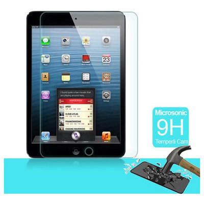 Microsonic Temperli Cam Ekran Koruyucu Apple Ipad Mini & Ipad Mini 2 & Ipad Mini 3 Kırılmaz Film Ekran Koruyucu Film