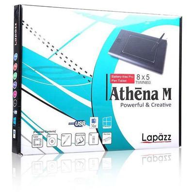 Uc-logic UCMN853 Lapazz A5 wide siyah 2048 kademe basınç 5080Lpi grafik tablet Grafik Tablet