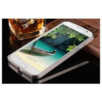 Microsonic Samsung Galaxy Grand Neo Thin Metal Bumper 0 Kılıf Gümüş Cep Telefonu Kılıfı