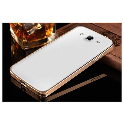 Microsonic Samsung Galaxy Grand Neo Thin Metal Bumper Çerçeve Kılıf Sarı Cep Telefonu Kılıfı