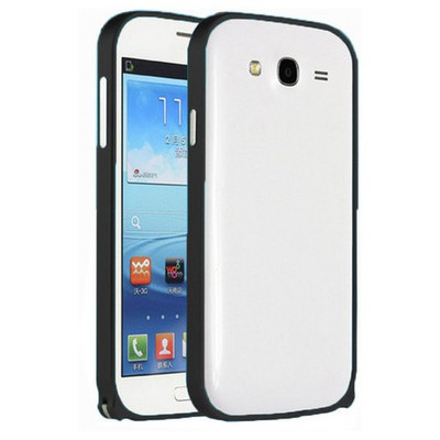 Microsonic Samsung Galaxy Grand Neo Thin Metal Bumper 0 Kılıf Siyah Cep Telefonu Kılıfı