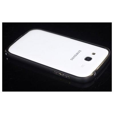 Microsonic Samsung Galaxy Grand I9082 Thin Metal Bumper Çerçeve Kılıf Siyah Cep Telefonu Kılıfı