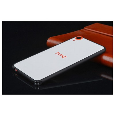 Microsonic Htc Desire 820 Thin Metal Bumper Çerçeve Kılıf Siyah Cep Telefonu Kılıfı