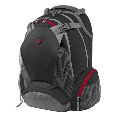 "HP FULL FEATURED BACKPACK 17.3"" F8T76AA-"