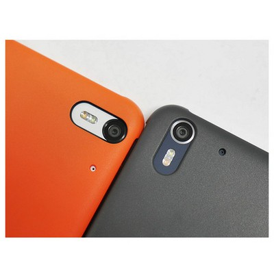 Microsonic View Cover Dot Delux Kapaklı Htc Desire Eye Kılıf Akıllı Modlu Gri Cep Telefonu Kılıfı