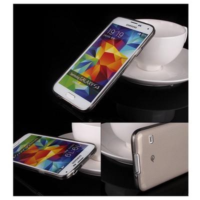 Microsonic Transparent Soft Samsung Galaxy S5 Kılıf Siyah Cep Telefonu Kılıfı