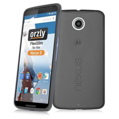 Microsonic Transparent Soft Motorola Nexus 6 Kılıf Siyah Cep Telefonu Kılıfı