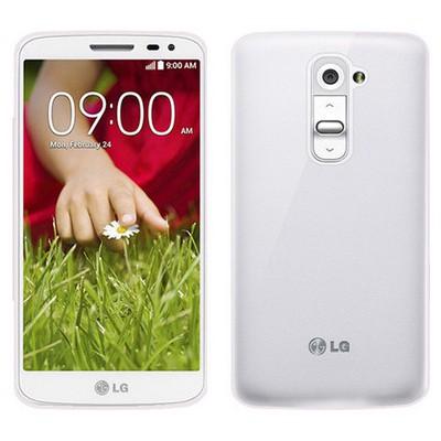 Microsonic Transparent Soft Lg G2 Mini Kılıf Beyaz Cep Telefonu Kılıfı