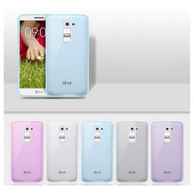 Microsonic Transparent Soft Lg G2 Kılıf Pembe Cep Telefonu Kılıfı