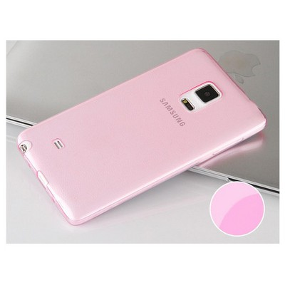 Microsonic Transparent Soft Samsung Galaxy Note Edge Kılıf Pembe Cep Telefonu Kılıfı