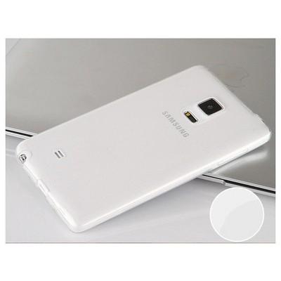 Microsonic Transparent Soft Samsung Galaxy Note Edge Kılıf Beyaz Cep Telefonu Kılıfı