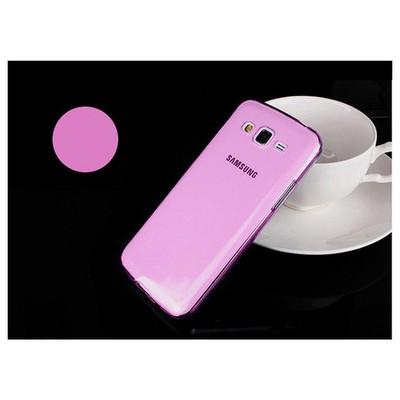 Microsonic Transparent Soft Samsung Galaxy Grand 2 Kılıf Pembe Cep Telefonu Kılıfı