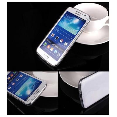 Microsonic Transparent Soft Samsung Galaxy Grand 2 Kılıf Beyaz Cep Telefonu Kılıfı
