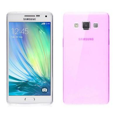 Microsonic Transparent Soft Samsung Galaxy A3 Kılıf Pembe Cep Telefonu Kılıfı
