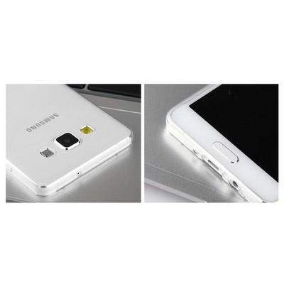 Microsonic Transparent Soft Samsung Galaxy A3 Kılıf Beyaz Cep Telefonu Kılıfı