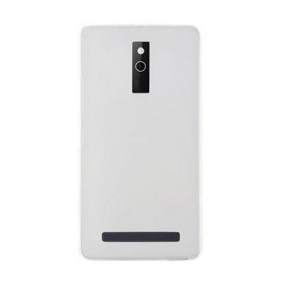Microsonic Transparent Soft Avea Intouch 4 Kılıf Beyaz Cep Telefonu Kılıfı