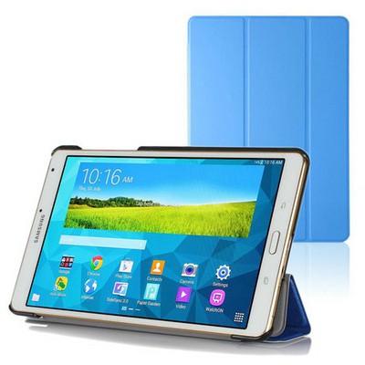 Microsonic Samsung Galaxy Tabs T700 Smart Case Ve Arka Kılıf Mavi Tablet Kılıfı