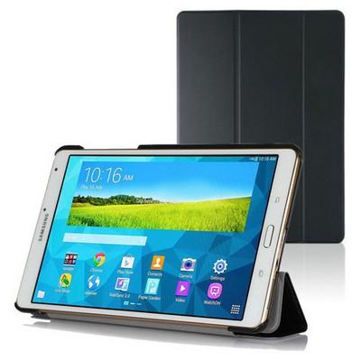 Microsonic Samsung Galaxy Tabs T700 Smart Case Ve Arka Kılıf Siyah Tablet Kılıfı