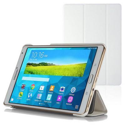 Microsonic Samsung Galaxy Tabs T700 Smart Case Ve Arka Kılıf Beyaz Tablet Kılıfı