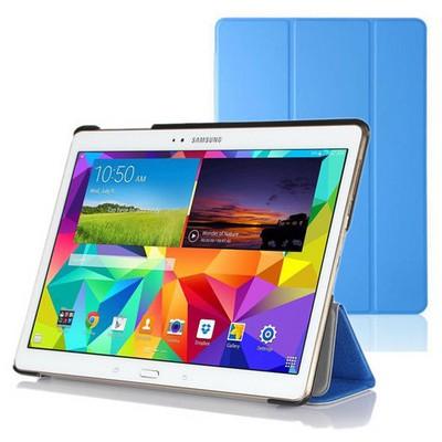 Microsonic Samsung Galaxy Tabs T800 Smart Case Ve Arka Kılıf Mavi Tablet Kılıfı
