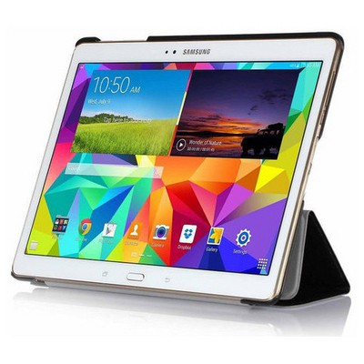 Microsonic Samsung Galaxy Tabs T800 Smart Case Ve Arka Kılıf Siyah Tablet Kılıfı