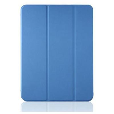 Microsonic Samsung Galaxy Tab4 T530 Smart Case Ve Arka Kılıf Mavi Tablet Kılıfı