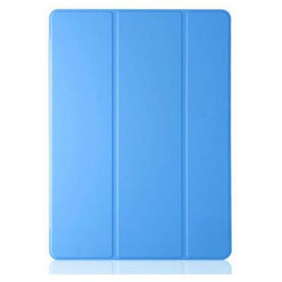Microsonic Samsung Galaxy Tab4 T230 Smart Case Ve Arka Kılıf Mavi Tablet Kılıfı