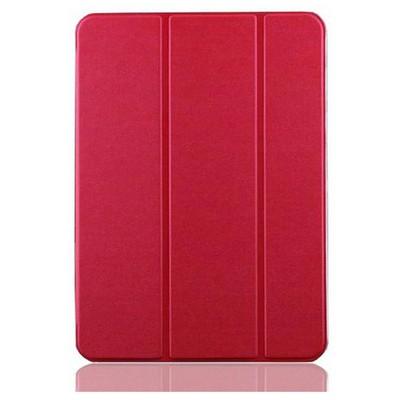 Microsonic Samsung Galaxy Tab4 T230 Smart Case Ve Arka Kılıf Kırmızı Tablet Kılıfı