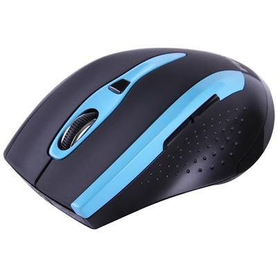 Flaxes Flx-921wm Kablosuz,usb Nano Alıcılı,2.4ghz,1600dpi Optik ,siyah,mavi Mouse