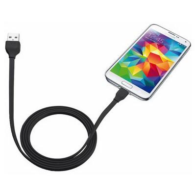 Trust Urban 20135 Flat Mikro Usb Kablo (Samsung) 1m -Siyah USB Kablolar