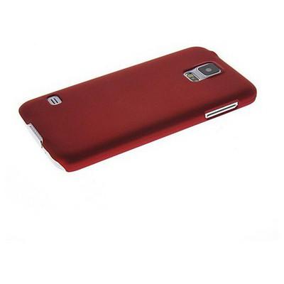 Microsonic Premium Slim Samsung Galaxy S5 Kılıf Kırmızı Cep Telefonu Kılıfı