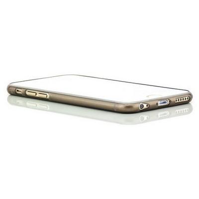 Microsonic Slim Transparent Soft Iphone 6 Plus (5.5'') Kılıf Siyah Cep Telefonu Kılıfı