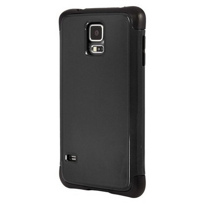 Microsonic Slim Fit Dual Layer Armor Samsung Galaxy S5 Kılıf Siyah Cep Telefonu Kılıfı