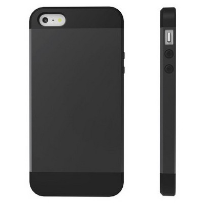 Microsonic Slim Fit Dual Layer Armor Iphone 5s Kılıf Siyah Cep Telefonu Kılıfı