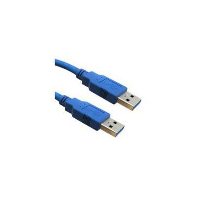 Flaxes Fuz-3aa 1.5m Usb 3.0 Erkek / Erkek Data Kablosu (am-am) USB Kablolar