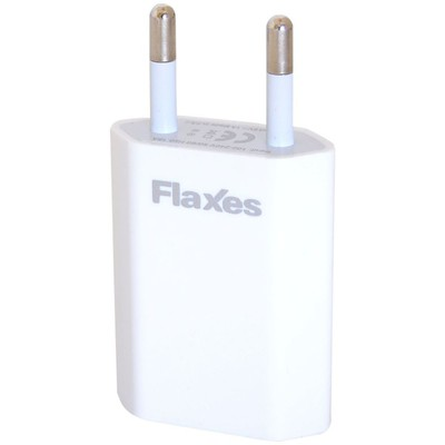 Flaxes Fxa-600b 5v 1a Ev Şarjı Gsm Uyumlu 1 Usb Beyaz Şarj Cihazları