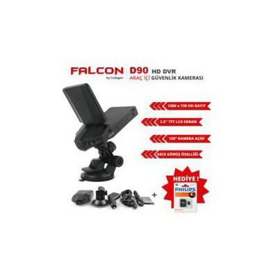 """Codegen D90 Hd 720 Gece Görüşlü 2.5"""" Lcd Ekranlı Araç Içi Kamera Oto Elektroniği"""