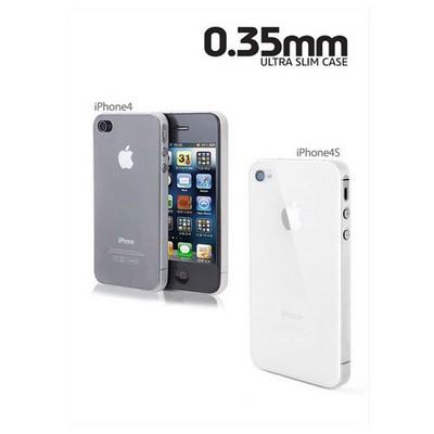 Microsonic 0,35mm Ultra Ince Iphone 4 / 4s Kılıfı Pembe Cep Telefonu Kılıfı