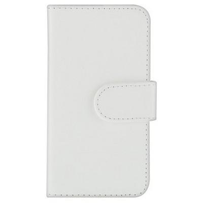 Microsonic Cüzdanlı Deri Iphone 4s Kılıf Beyaz Cep Telefonu Kılıfı