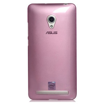 Microsonic Transparent Soft Asus Zenfone 5 Lite Kılıf Pembe Cep Telefonu Kılıfı