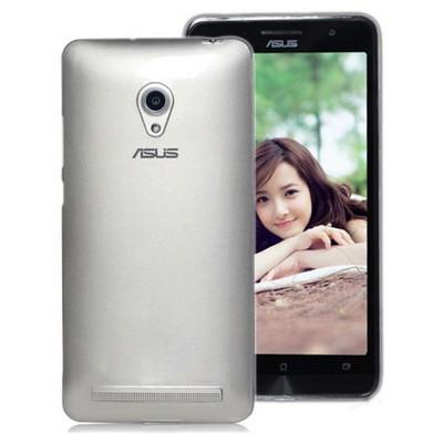 Microsonic Transparent Soft Asus Zenfone 5 Lite Kılıf Beyaz Cep Telefonu Kılıfı